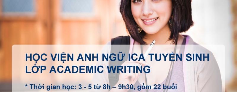 Anh ngữ ICA Academic writing
