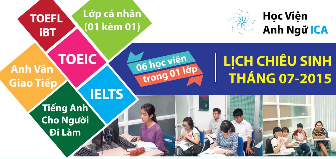 hoc IELTS tai Binh Thanh lop it hoc vien