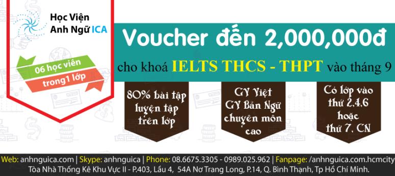 IELTS-THCS,THPT-chieu-sinh-thang-9
