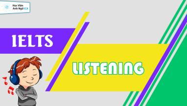 IELTS LISTENING TEST